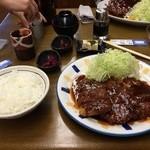 金光軒 - 味噌ヒレ3枚定食