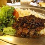 フランス料理店 牛肉食堂 COWBELL - 日替わり(牛スライスの重ね焼き)