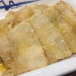 松屋 - 豚バラ焼肉 (タレをかけた後)