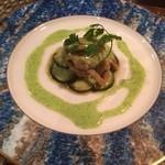 プティ・ジョア - 料理写真:ツブ貝のバターソテーエスカルゴソース