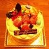 アトリエゼロ - 料理写真:ショートケーキ4号(クリスマス仕様)