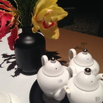 中国料理 星ヶ岡 - テーブルセッティング