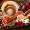 北海あぶりやき 運河倉庫 - 料理写真:自慢の海の幸を盛り合わせた、【小樽運河盛り】!