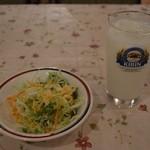 カリカ - サラダとラッシー