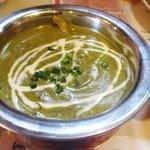 インド料理 マナカマナ - ('13/12)サグチキンカレー