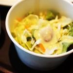 コートロッジ - ランカプレートのサラダ