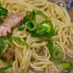 無鉄砲  - 替麺:細ストレート麺