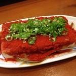 全国珍味・名物 難波酒場 - 地獄豆腐 これ、味噌がかなり美味しくて病みつきになります♥︎