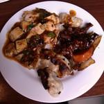 23476607 - 餃子・酢豚・麻婆豆腐