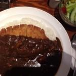 ボンバーキッチン - カツカレー(とんかつトッピング)