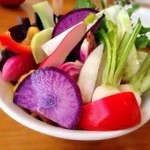チャオチャオ - 契約農家から旬の野菜の盛り合わせ