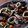 セルベセリアルービロポッサ - 料理写真:イカ墨のパエリア