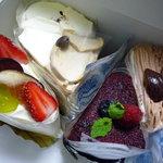 ラ・ファミーユ - ふわふわのシフォンケーキ達