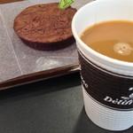 デリフランス - フォンダンショコラ【200円】コーヒー【273円】