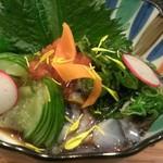 旬味ひげ - 赤ナマコ酢