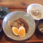 七ちゃん - 鶏肉の酢煮俯瞰