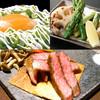 おかん - その他写真:おかん焼き、野菜焼き、A-5 黒毛和牛サーロインステーキ