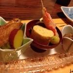 魚あん 三田 - お通し