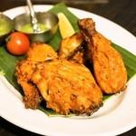 ダバインディア - 2014.1 地鶏半羽のタンドリーチキン(1,260円)