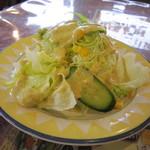 ボンベイ - ドレッシングの美味しいサラダ☆