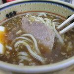 勝神角ふじ - つけ麺_中盛り