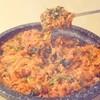 漢陽 - 料理写真:ヤンコプチャンの後はホルモンのコクと旨味の詰まったタレでポックンパブ(炒めごはん)をシメにどうぞ!
