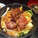 中野畜産 - ランチ 【焼肉丼】