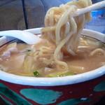チャイナタウン - ミニみそちゃんぽん 麺アップ!