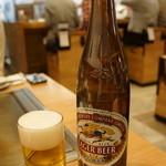 お好み焼 きじ - 瓶ビールは麒麟