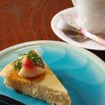 日本料理ほう吉 - チーズケーキ