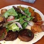 檪の丘 - ベーコンと野菜のサラダ