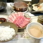 しゃぶ亭 - ランチ、ミックス定食