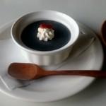 オーガニックカフェ チャント - 黒胡麻のブラマンジェ