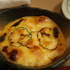 味福 - 料理写真:味福のかぼちゃグラタン。眼めがねをかけた顔にも見えるな~(13.12)