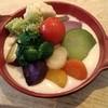 稲こし - 料理写真:有機野菜・低農薬野菜を使用した「富士山麓野菜のドリア」。ランチには、この前に前菜、有機野菜のサラダ、メインディッシュ、食後には体に優しいコーヒーが付き、ディナーには季節の果物をたっぷり使用したデザートが付きます。 (by お店)