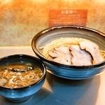 豚骨一燈 - チャーシュー濃厚魚介つけめん(950円)+大盛り券(100円)麺量は大盛り400g