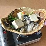 海宝 - 料理写真:牡蠣湯豆腐