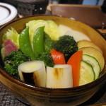 ヴィーノ ガッポ - 野菜のココット 体が温まります