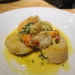 ヴィーノ ガッポ - 帆立と蝦のクリーム煮