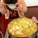 びわこ食堂 - 白菜・ハクサイ・はくさい・・ひたすら白菜なんです(笑)