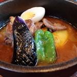 ダッチオーブン - 軟らかラムのスープカリー(¥1,280) 2013.07
