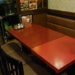 横浜中華街 梅蘭 新館 - 6人用のテーブル