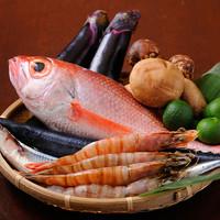 新鮮!築地市場直送で仕入れる厳選鮮魚