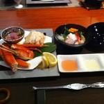 虹と海 - 料理写真:夜の料理 前菜