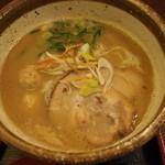 元喜神 - 鶏白湯ラーメン(小)