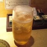 うずら屋 - 鶴梅すっぱい梅酒。