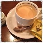 カフェ ウィーン - 食後のコーヒー
