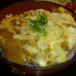 まねき - チーズカツ丼
