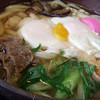 めん処 陣内 - 料理写真:鍋焼きうどん(玉子2個)