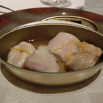 レストラン ラ フィネス - 臼杵(うすき)漁港のトラフグとその白子のサプライズ仕立て